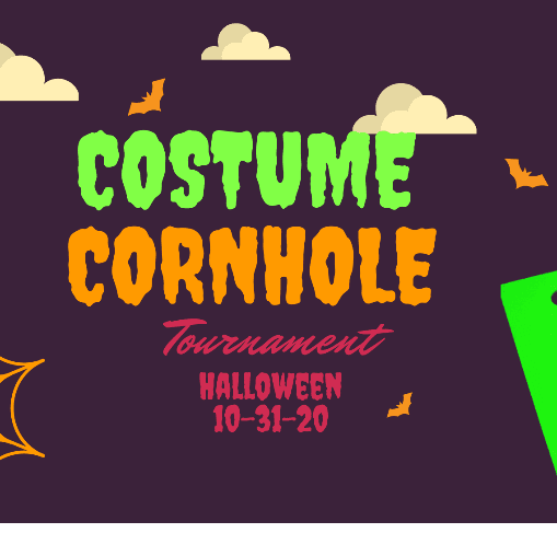 Costume Cornhole Flyer