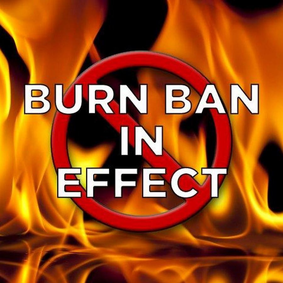 Burn Ban in Effect