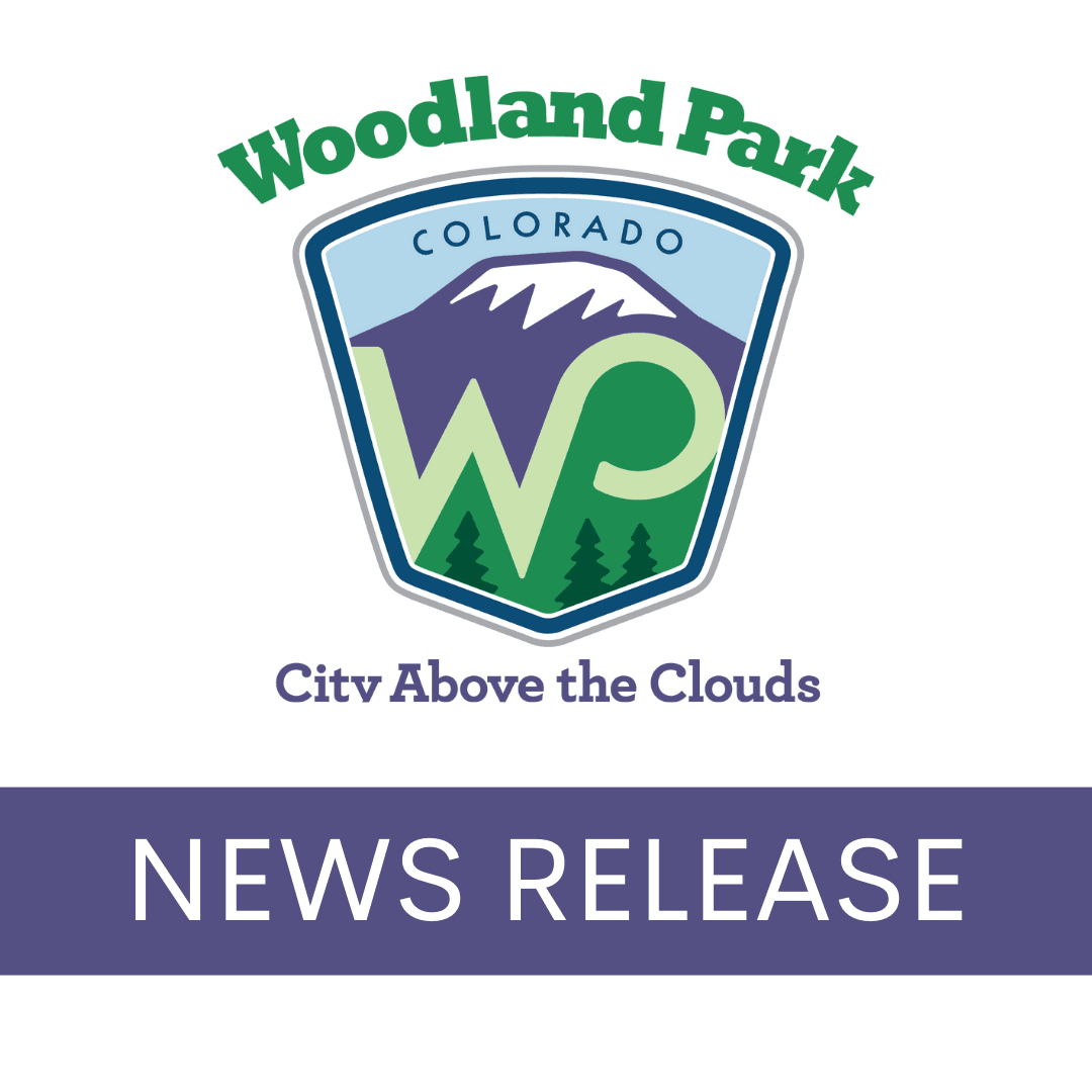 City of Woodland Park Press Release Graphic
