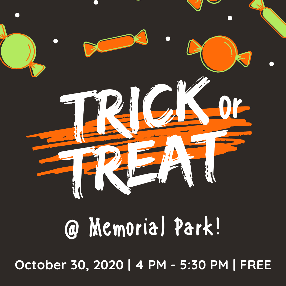 Memorial Park Halloween Flyer (1)