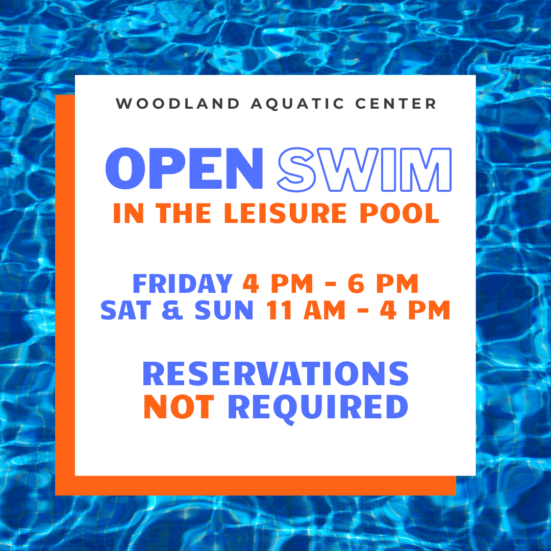 Open Swim in the Leisure Pool - No Reservations Required