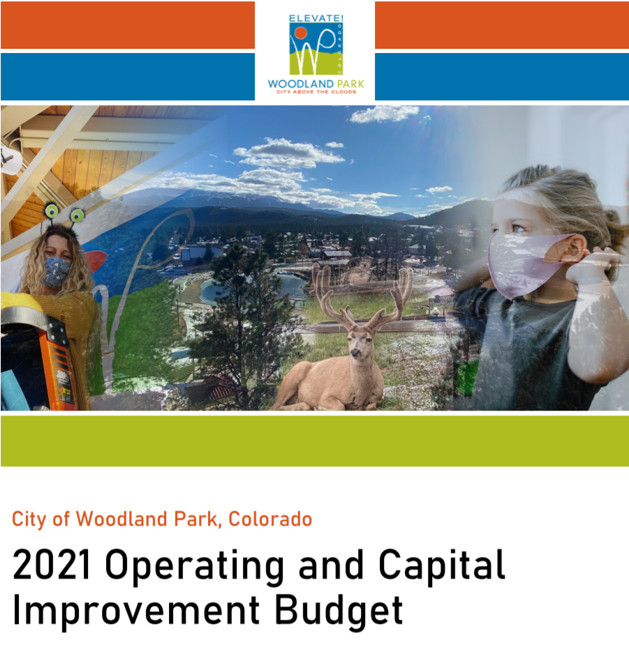 2021 Operating and Capital Improvement Budget Cover Photo Only