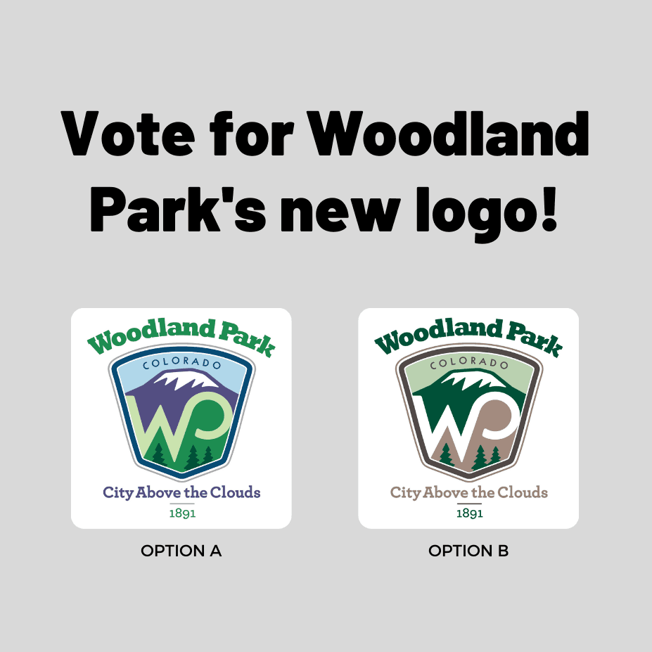 Vote for Woodland Park's New Logo