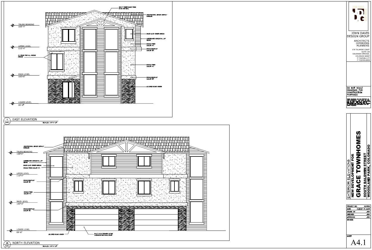 Grace Townhomes North Elevation (JPG)
